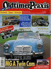 Oldtimer Praxis 9 05 2005 Fiat Ritmo Honda CX 500 MAN F8 Volvo 262 C Bertone MGA