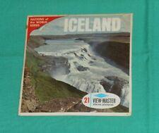 vintage ICELAND VIEW-MASTER REELS (missing booklet)