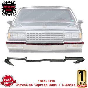 Front Bumper Filler Center Retainer for 1986-90 Chevrolet Caprice Base / Classic