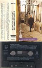 GEORGES BRASSENS La mauvaise reputation RARE  SPANISH  CASSETTE unique SPAIN