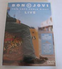 Bon Jovi This Left Feels Right (Music DVD,2004)