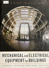 Mechanical and Electrical Equipment for Buildings, 10th Edition Good Condition