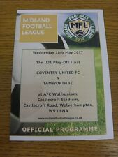 10/05/2017 Midland League U23 Play-Off Final: Coventry United U21 v Tamworth U21