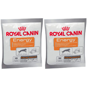 2 x Royal Canin High Energy & Activity Booster Dog Training Reward, Snack - 50g
