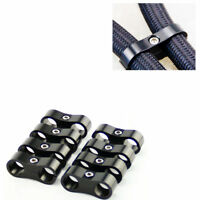 8pcs AN10 AN -10 19MM Braided Hose Separator Clamp Fitting Adapter Bracket