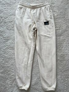 Adidas Equipment 90's Vintage Track Pants Trousers Ivory Training Hype Joggers