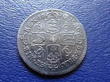 SHIPWRECK RARE CHARLES II  SILVER SHILLING 1670 FROM ASSOCIATION 1707
