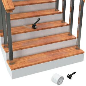 "15Pack 6""x30'' Stair Treads Non Slip Outdoor Tape Anti Slip Strips Durable"