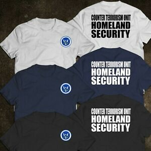 NEW Police HOMELAND SECURITY Counter Terrorism Department United States T-Shirt
