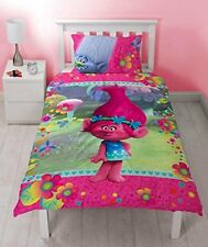 Trolls Quest Single Reversible Duvet Cover and Matching Pillowcase Set