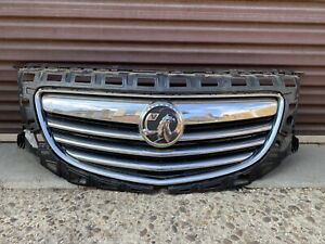 VAUXHALL INSIGNIA MK1 FRONT BUMPER GRILL GRILLE WITH BADGE '08-13