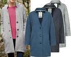 New Seasalt 8 - 20 Wrasse Grey Navy Blue Cotton Oversized Trench Jacket Coat