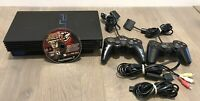 Sony PS2 Slim SCPH-30001R 2 controllers/Naruto Ultimate Ninja 3 For Repair!