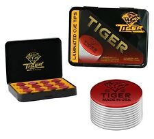 Tiger Laminated Pool Cue Tips SOFT  - Tiger QTY 3 - FREE SHIPPING 002003