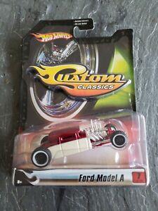 2007 Hot Wheels Custom Classics Fresh Paint Series 1 Ford Model A Hot Rod MIB
