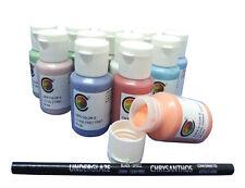 Chrysanthos Cafe Colors Glaze 12 x 2 fl oz + 2 FREE Black Underglaze Pencils