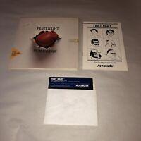 UNTESTED Fight Night (Accolade, 1985) Commodore 64 / 128 C64 Complete in box CIB