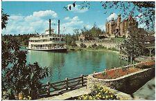 Sternwheeler Admiral Joe Fowler at Walt Disney World Fl Postcard
