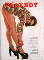 Playboy Magazine September 1972 ~ Woody Allen/Drug Explosion/Campus Nudity!