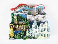 Luxemburg Magnet Fridge Reise Souvenir Luxembourg,Pont Adolphe.. Neu !