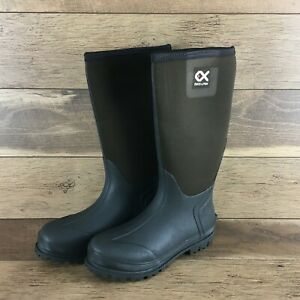 NIB Duck and Fish Women's SZ10 BROWN Waterproof Knee/Tall Boots US FAST SHIPPING
