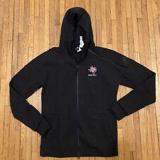 Adidas Men's Texas A&M Aggies Basketball Hoodie Sweatshirt Zip Up Black Size 2Xl