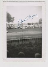 Indianapolis 500 Winner JIMMY BRYAN Signed Indy auto race home Photo 4x5