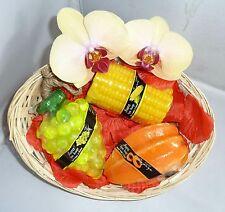 Luxury Valentines Spa Soap Basket Set Lush Smelling Tropical Fruit Unique Gift