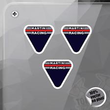 PEGATINA MARTINI RACING CLASSIC RALLYES DECAL STICKER AUFKLEBER AUTOCOLLANT
