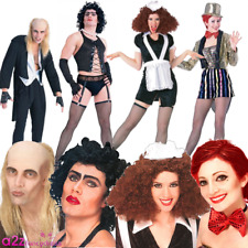 Adult Mens Womens Rocky Horror Picture Show Licensed Halloween Fancy Dress