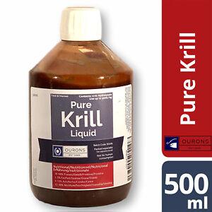 500ml Krill Protein Hydrolysate Liquid 100% Pure Mashed Fishing Bait Additive