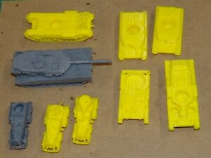 Flames Of War Vehicles Incomplete Or Minor/Major Flaws & Parts #8