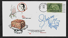Liberace Fruit Cake Ad  Ltd Edition Collector's Envelope Repro Autograph *1046