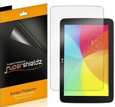 3X SuperShieldz HD Clear Screen Protector Shield Saver For LG G Pad 10.1 Tablet