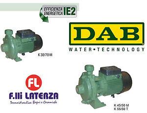 DAB Pumpe Zentrifuge Einstufig Und Zweibettzimmer-Laufrad - K 30/70 M/K 45/50