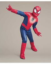 The Ultimate Spider-Man LIGHT-UP DELUXE 4 PIECE Costume 4-6 Rubies 610862