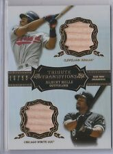 Albert Belle 2013 Topps Tribute Transitions Relic #/99 INDIANS