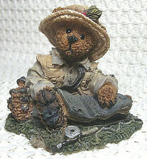 Boyds Bears & Friends, Bearstone Collection, Otis.the Fisherman #2249-06, 1994