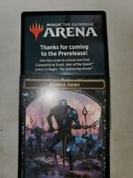 Free Traditional Draft any set Code Only - from War of the Spark event MTG Arena