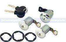 3x Door Locks Barrel Set & Keys Citroen Berlingo Xsara & Picasso Peugeot Partner