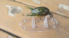 VINTAGE CREEK CHUB DINGBAT FISHING LURE GLASS EYED FROG