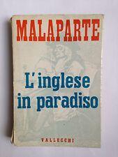 Curzio Malaparte, L'INGLESE IN PARADISO, Vallecchi, 1960