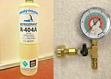 R404a R 404 Refrigerant R 404a Coolers Freezers Disposable 20 Oz Can Gauge