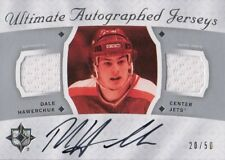 08-09 Ultimate Collection AUTOGRAPHED JERSEYS xx/50 Made! Dale HAWERCHUK - Jets