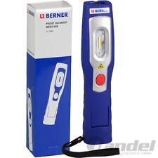 "Berner Pocket LUX ""BRIGHT"" Li-IO Batterie Micro USB Lampe de poche lampe de travail"