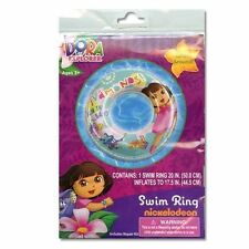 Inflatable Swim Ring Dora & Boots Age 3+ NIP Bikini