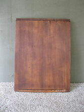 "Vintage Bread Board Primitive 13"" x 10"" Wood, Cutting Dough, Breadboard Ends"
