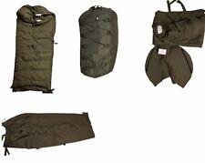 1 Schlafsack  BW Winter oliv grün gebraucht (5-tlg.) Militär Armee Camping