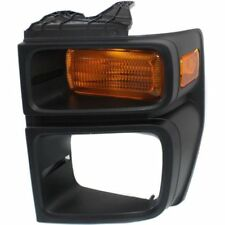 For E-250 08-14, CAPA Driver Side Parking Light, Amber Lens