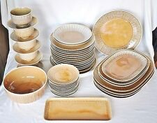 Dinnerware Rendezvous Sahara H. Eighties Hutschenreuther 43 Parts 12 persons
